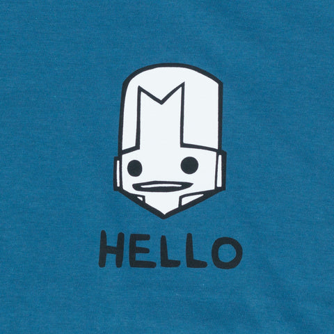 HELLO KNIGHT BLUE T-SHIRT