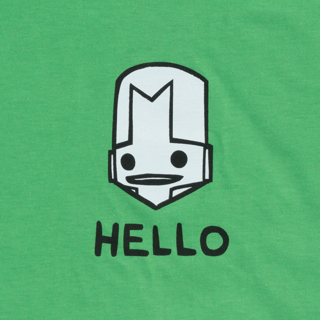 HELLO KNIGHT GREEN T-SHIRT