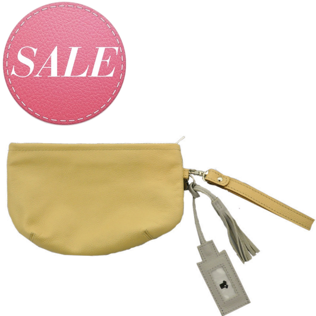 SMILE Clutch Caramel