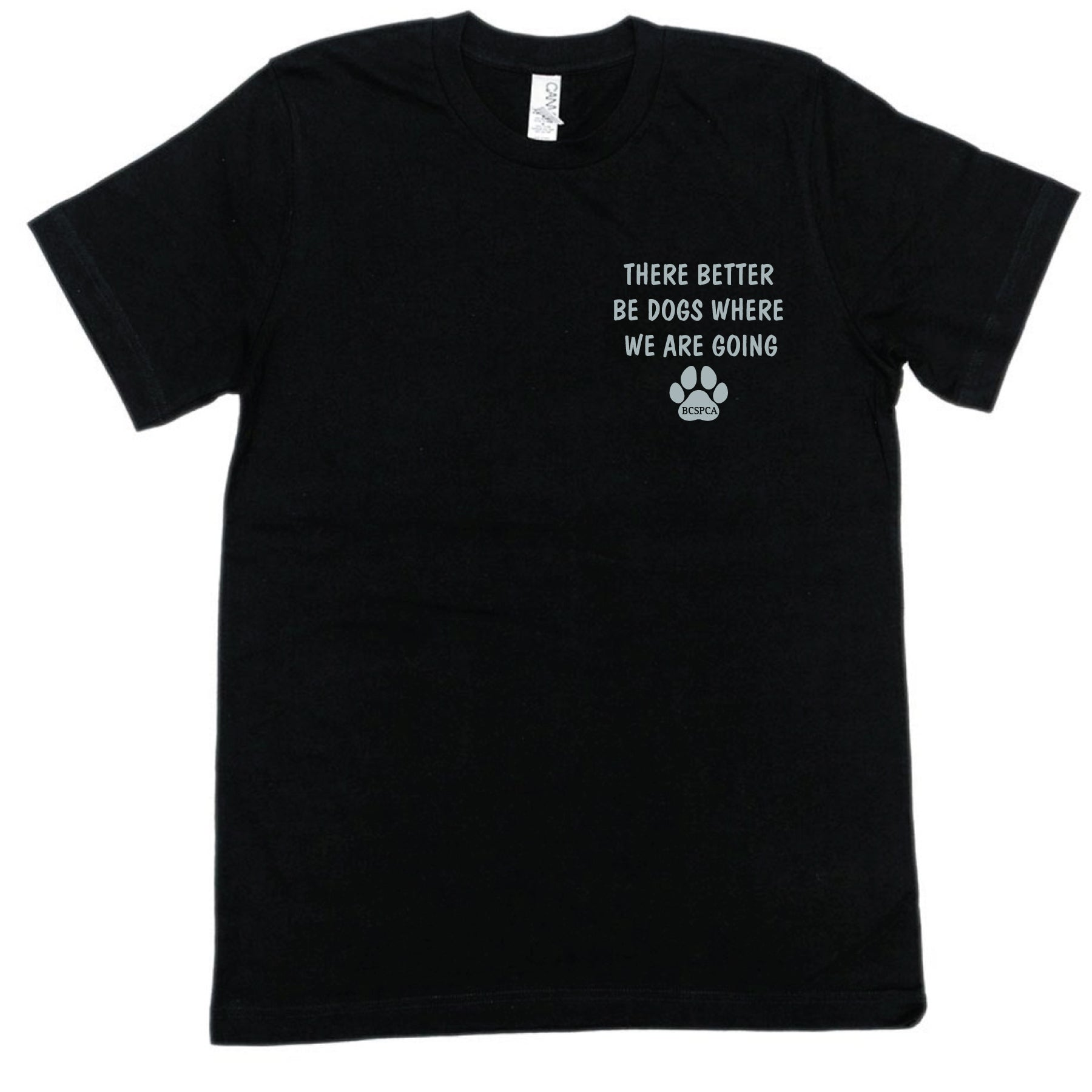 Better Be Dogs - Unisex Rolled Cuff T-shirt
