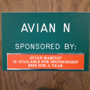 Wild ARC Avian Enclosure Sponsorship