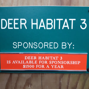 Wild ARC Deer Pen Sponsorship
