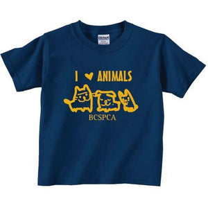 I Love Animals - Kid T-shirt