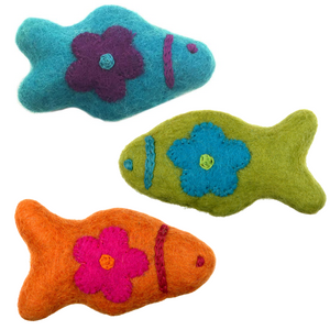 Cat Toys - Woodland Fish