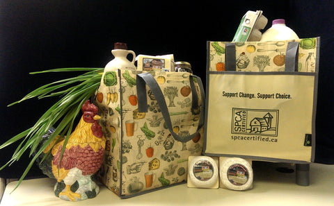 Vintage style SPCA Certified Totes
