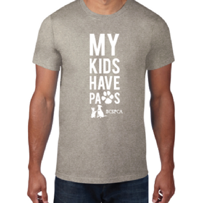 My kids have paws - Unisex T-shirt