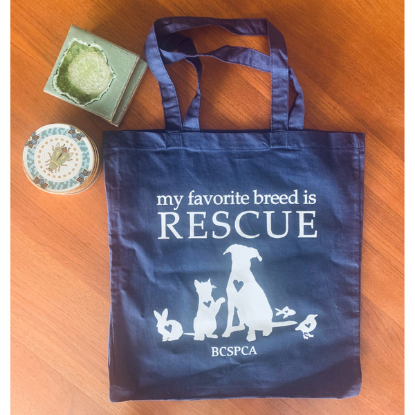 My Favourite Breed is Rescue Tote Bag
