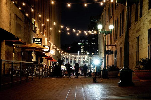 """ Lights in the Alley"" Prints and Products"