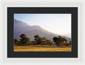 California Sceneries - Framed Print