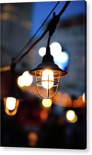 Lights by the sea - Acrylic Print