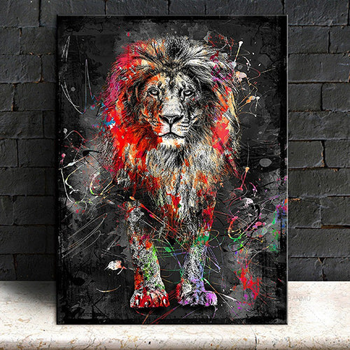The Colorful Lion