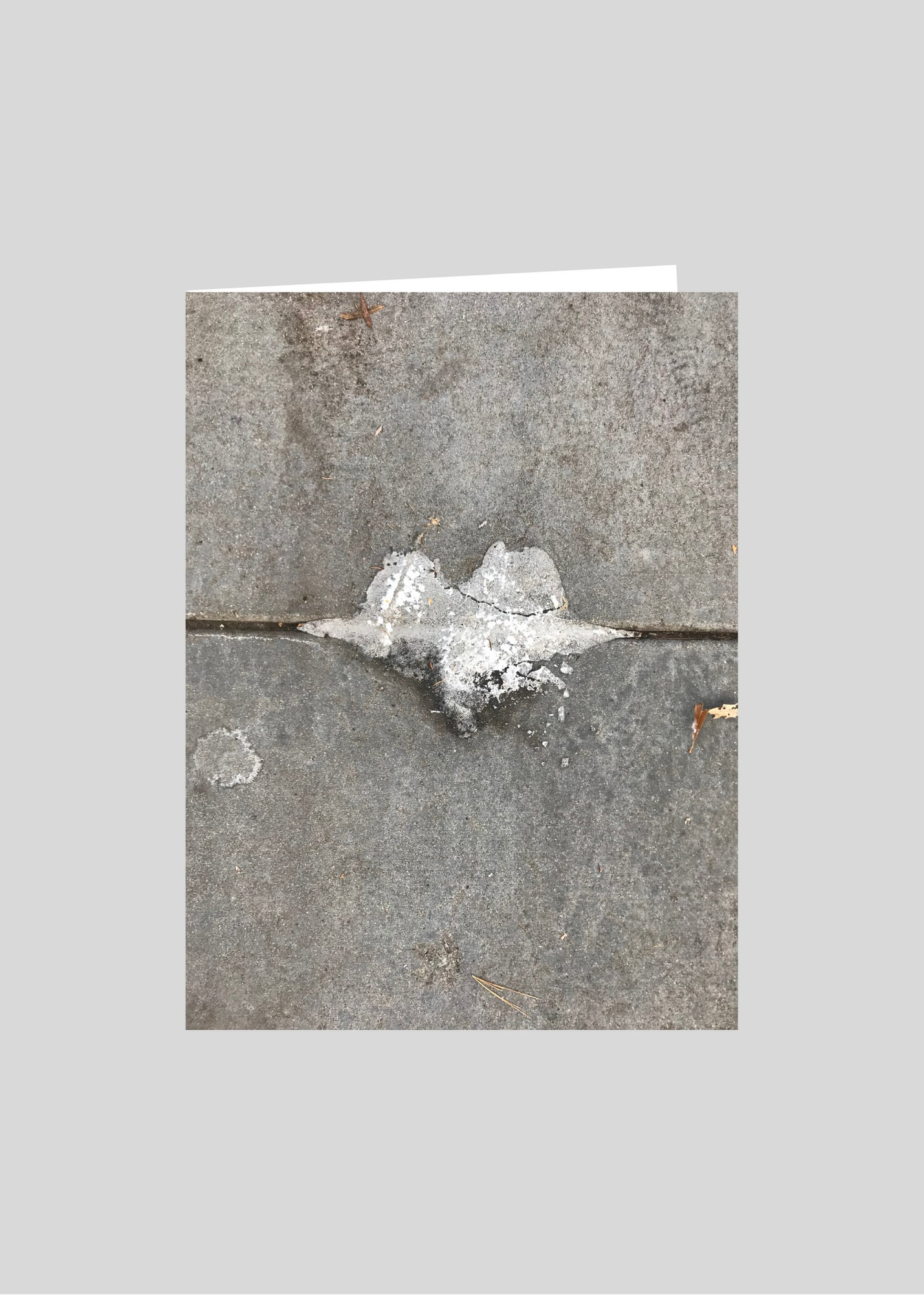 greeting card original photography heart urban