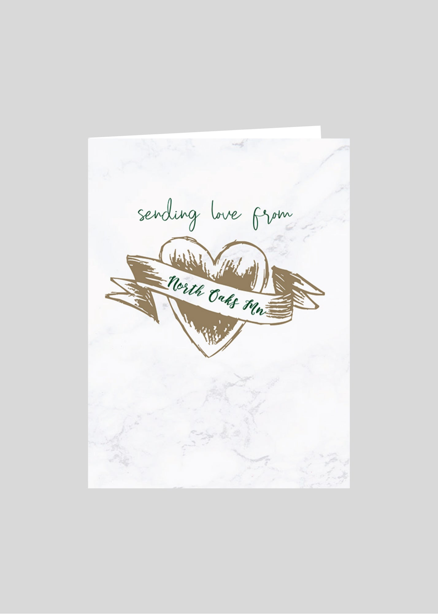 greeting card heart love north oaks