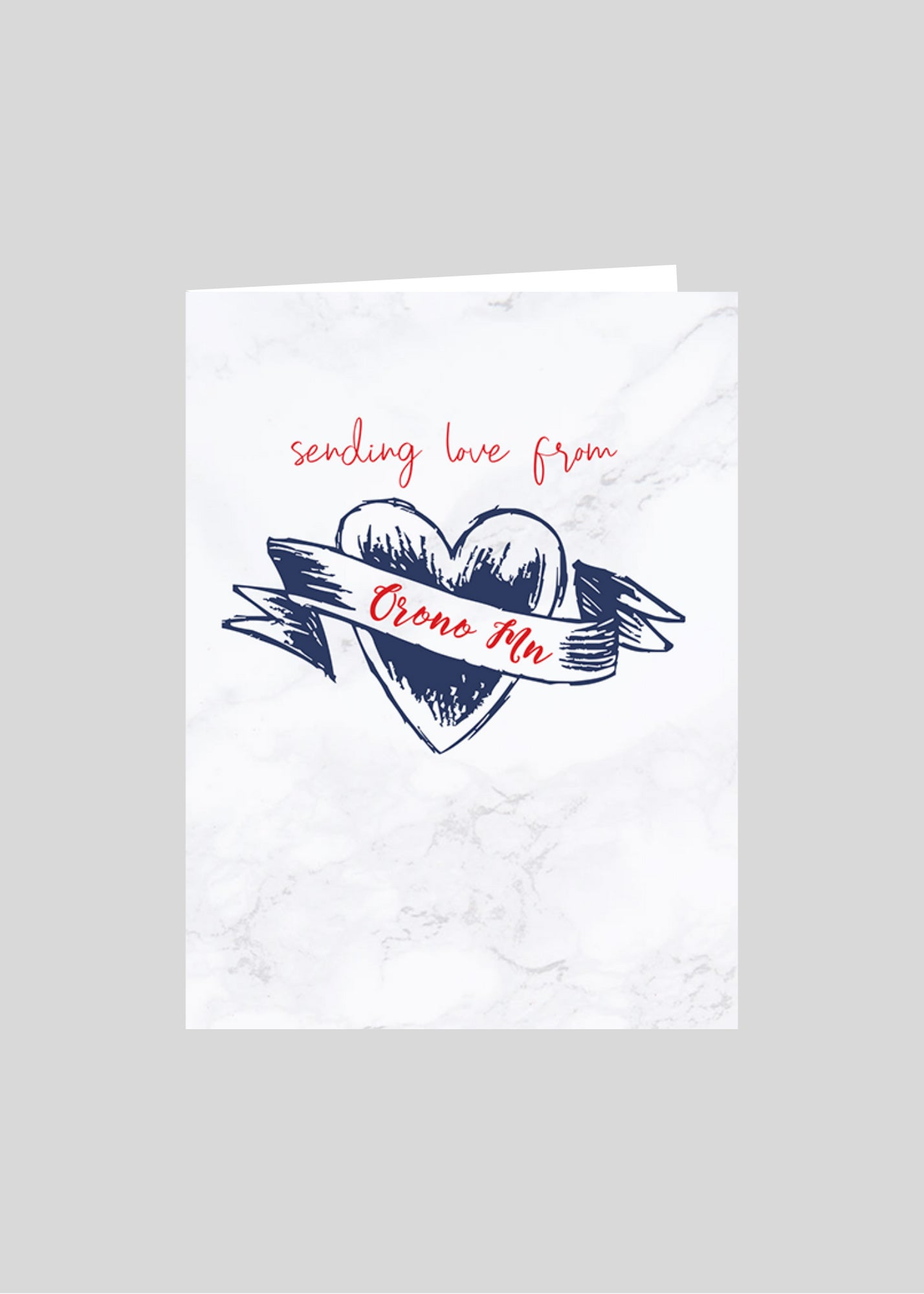 greeting card heart love orono minnesota