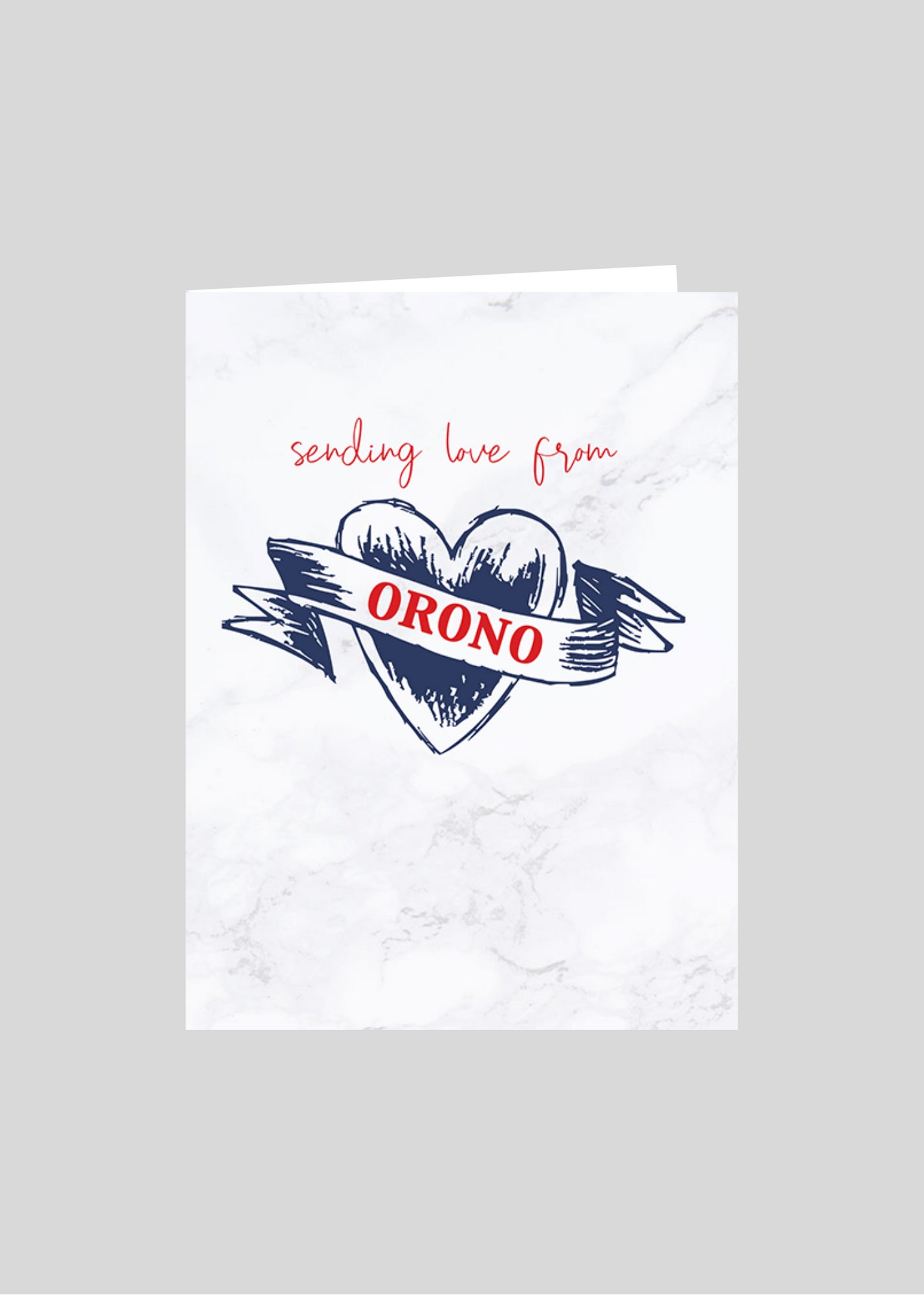 greeting card heart love orono
