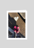 Heart and Pink Shoes Greeting Card