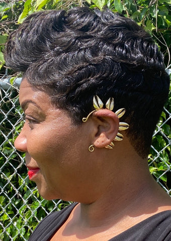 The Gold Royal Ear Cuff - PRE ORDERS ONLY