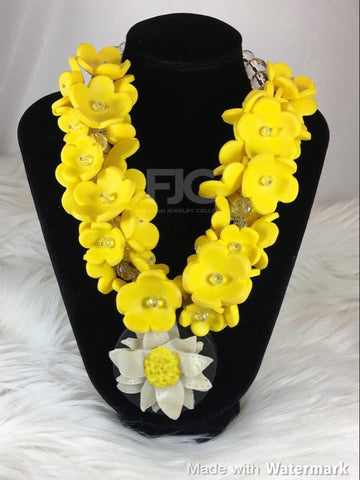 Canary Statement Necklace