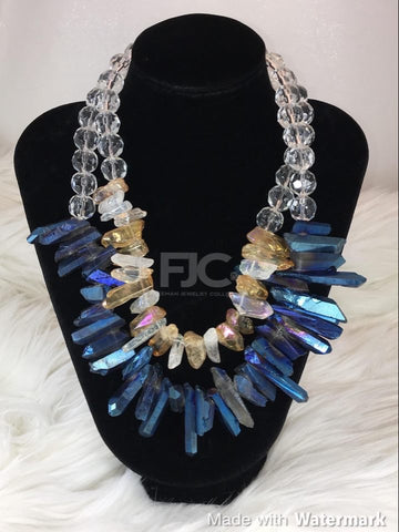 Chunky Cobalt Necklace