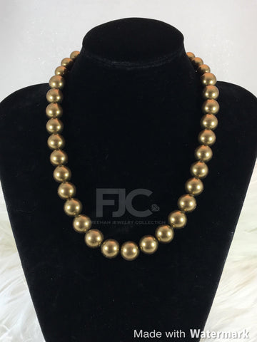 Goldie Pearls Necklace