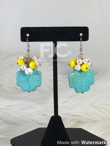 Canary Turquiose Earrings