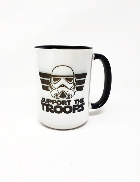 15 oz Mug - Support the Troops