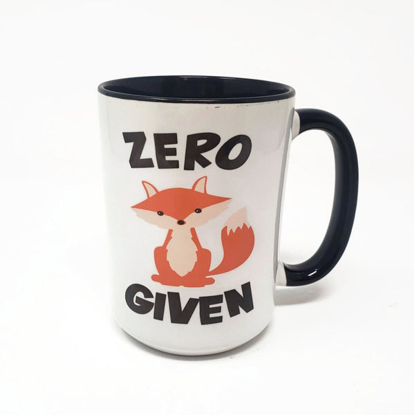 15 oz Mug - Zero Fox Given