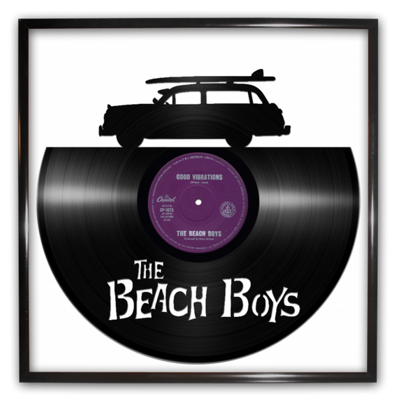 Beach Boys vinyl record art