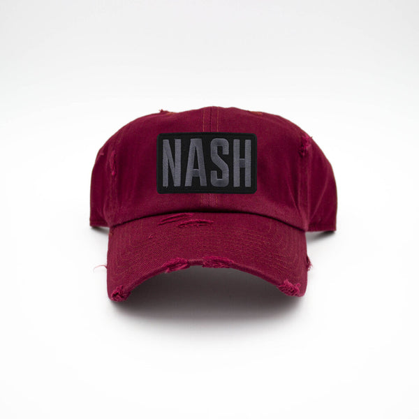 Nash Patch Maroon Hat