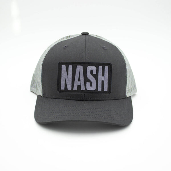 Nash Patch Trucker Hat - Charcoal/Gray