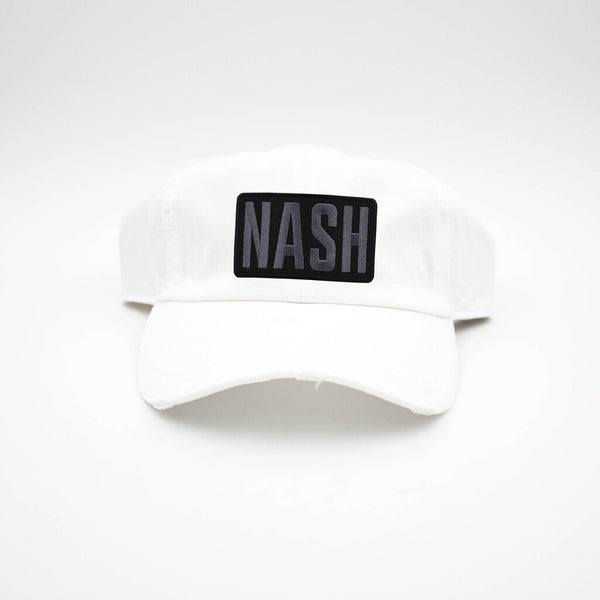 Nash Patch White Hat