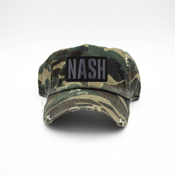 Nash Patch Camo Hat