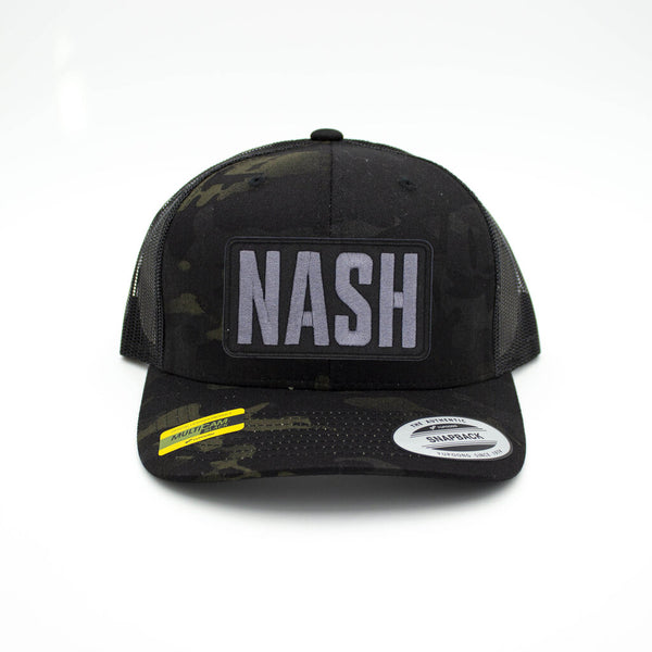 Nash Patch Trucker Hat - Multi Camo