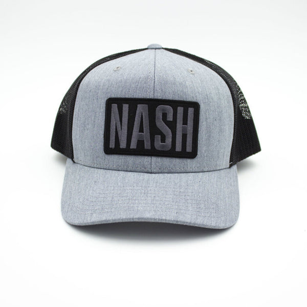 Nash Patch Trucker Hat - Gray/Black