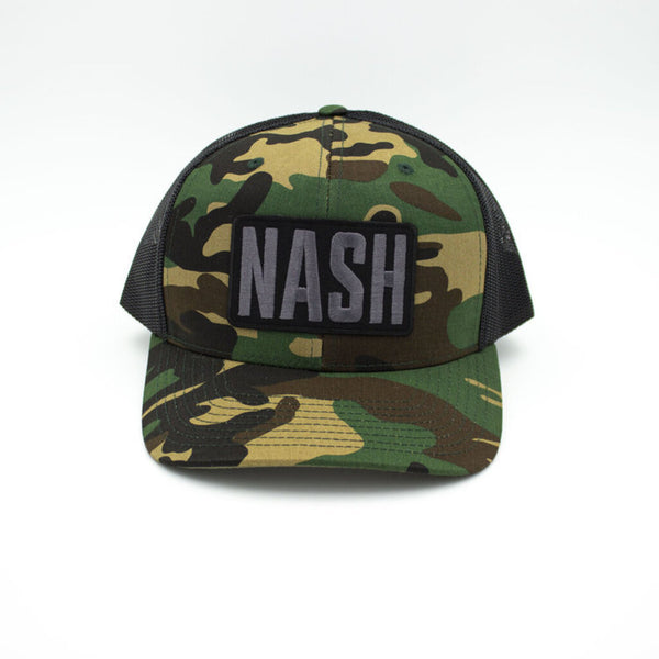 Nash Patch Trucker Hat - Camo/Black
