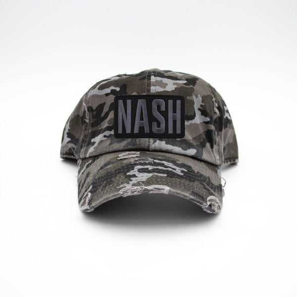 Nash Patch Black Camo Hat