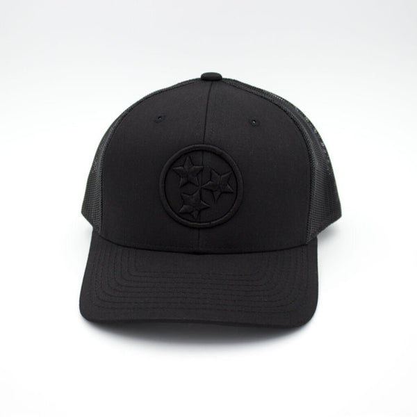 Tristar Trucker Hat - Black