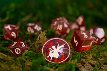 Load image into Gallery viewer, Flawed: BE MINE Handcrafted Dice