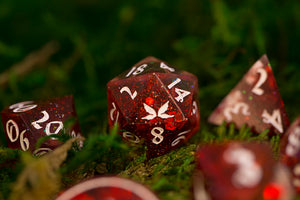 Flawed: BE MINE Handcrafted Dice