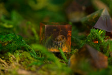 Load image into Gallery viewer, Raw Swamp Thing Petri Handcrafted Dice