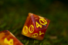 Load image into Gallery viewer, Daybreak Petri Handcrafted Dice