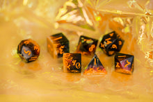 Load image into Gallery viewer, Fuego Handcrafted Dice