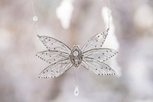 Load image into Gallery viewer, Limited Edition Ice Queen 6 wing Necklace Silver