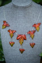 Load image into Gallery viewer, Fall Maple Cascade Necklace