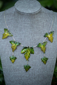 Spring Maple Cascade Necklace