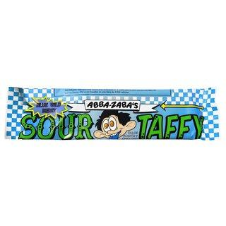 Abba Zabba Sour Taffy Blue Raspberry Bar 1.8oz