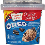 Duncan Hines Perfect Size for 1 OREO Cookies & Cream Cake Mix, 2.4 oz Cup