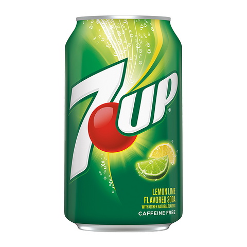 7UP Lemon Lime - (355ml) USA