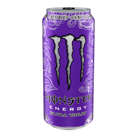 Monster Ultra Zero Violet - 500ml (EU)