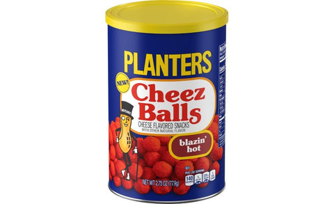 Planters Cheez Balls Blazin' Hot 78g